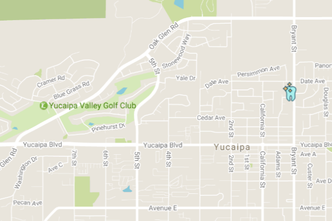 Yucaipa Family Dental Location